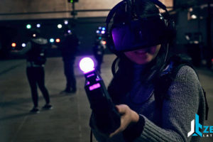 Zero Latency Survival 4 - AmericaÕs Largest Multiplayer Free-Roam Virtual Reality Game Arenas Coming to Greater Boston and Philadelphia in 2017 Courtesy photo