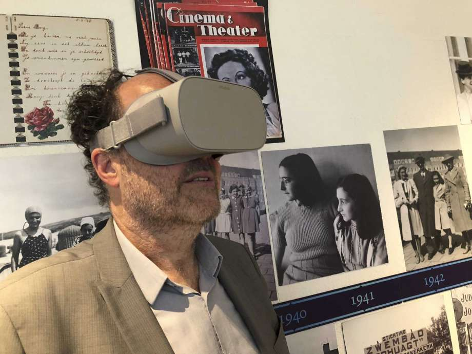 7419ec14cc9 The Amsterdam museum dedicated to Anne Frank s life launched a virtual  reality tour of the cramped quarters where the Jewish diarist and her  family hid from ...