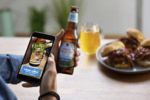 Angry Orchard launches first-of-its-kind augmented reality experience.