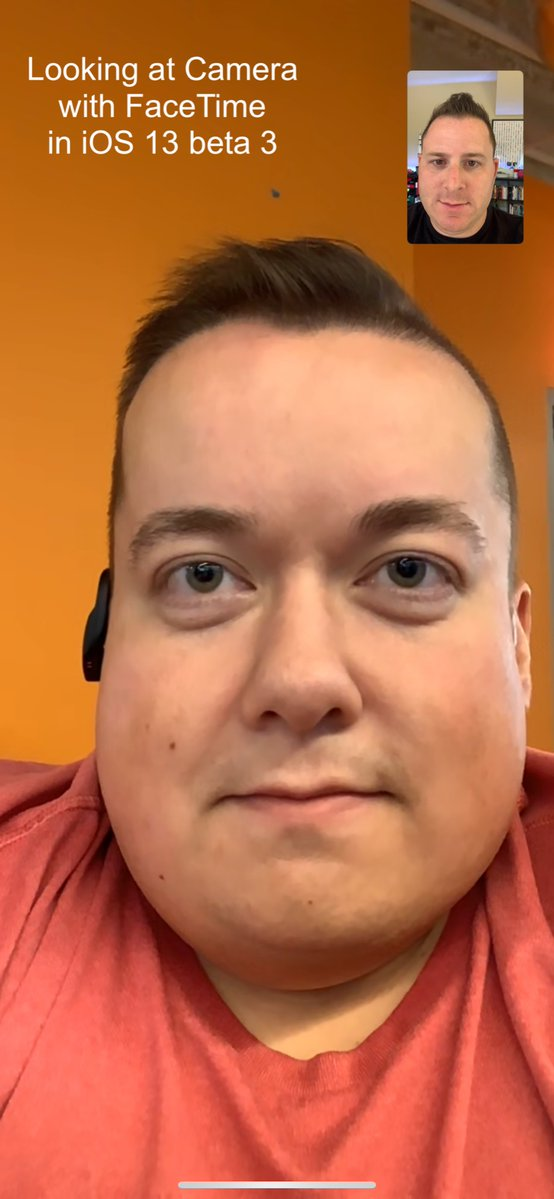 Altered Connections Between Eye Contact >> Incredible New Ios 13 Facetime Feature Fixes Your Eye Contact With